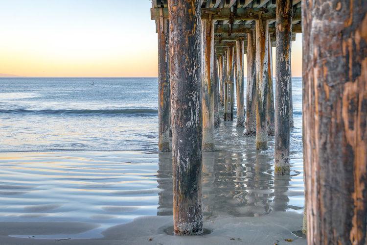 Avila Beach CA Pier Beach Nature Outdoors Sea Tourism Water