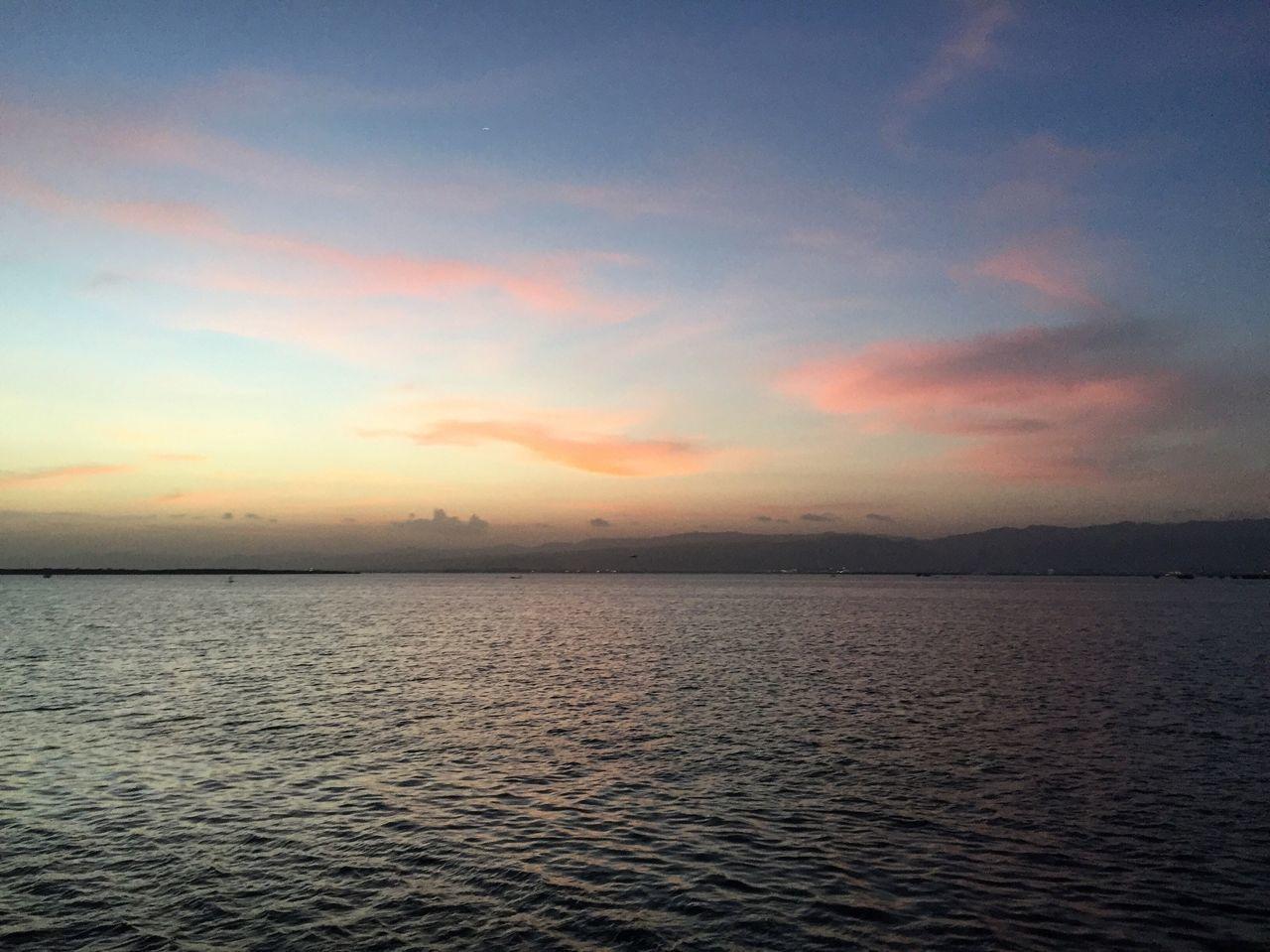 Landscape Sunset Beauty In Nature Nature Sea Scenics Sky