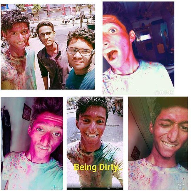 Holi2K16 Holi HoliHai Gulal IndiasFavFestival Colourlover Selfie Colours Insta Festivalseason