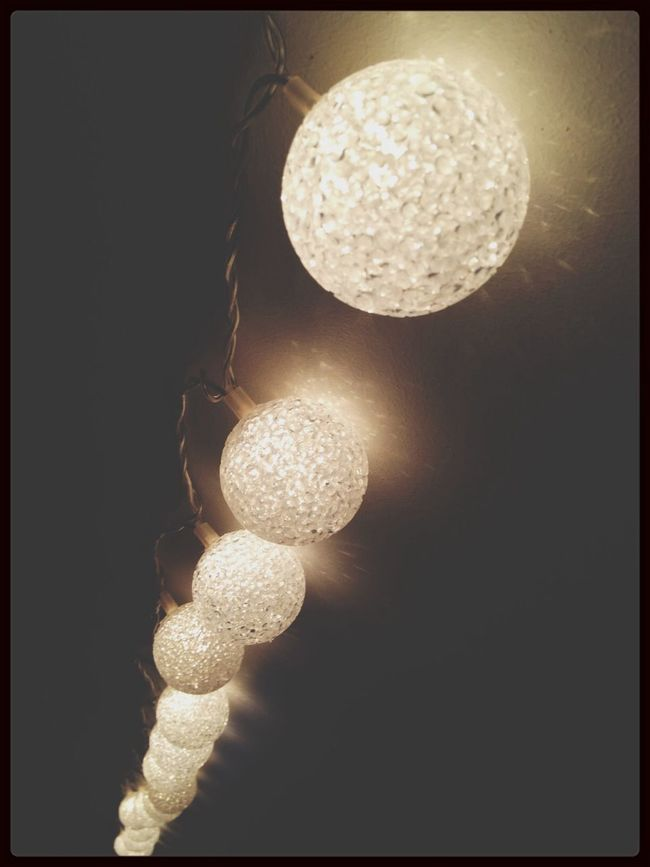 put the light on