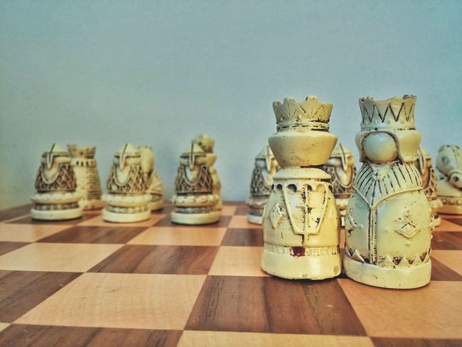 King Queen Chess Chesspieces
