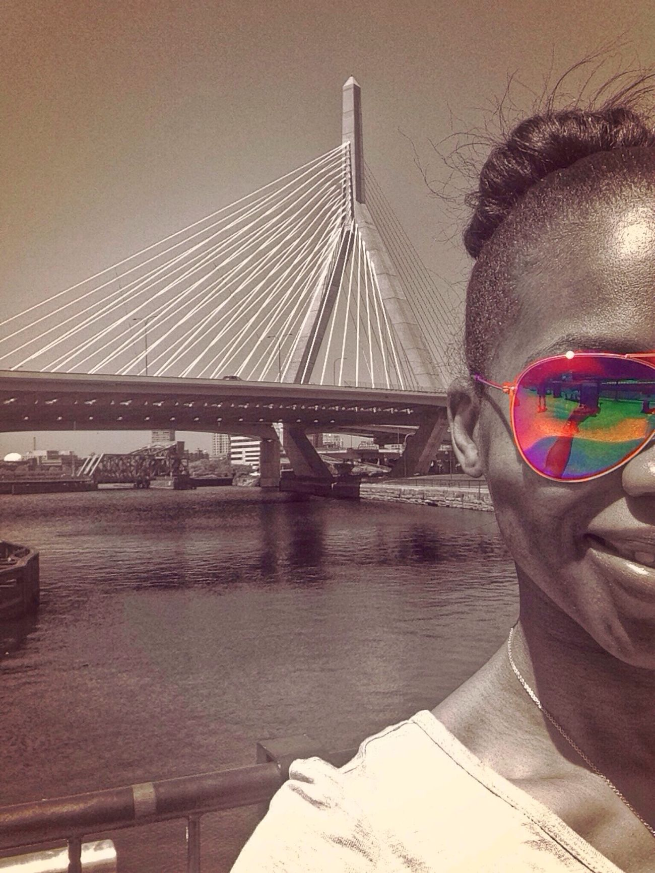 Hoping all my FAB friends are having a WONDERFUL day.!! Love your FAVORITE BOSTONIAN ❤️❤️ Selfie HDR Selfportrait Color Splash Streamzoofamily