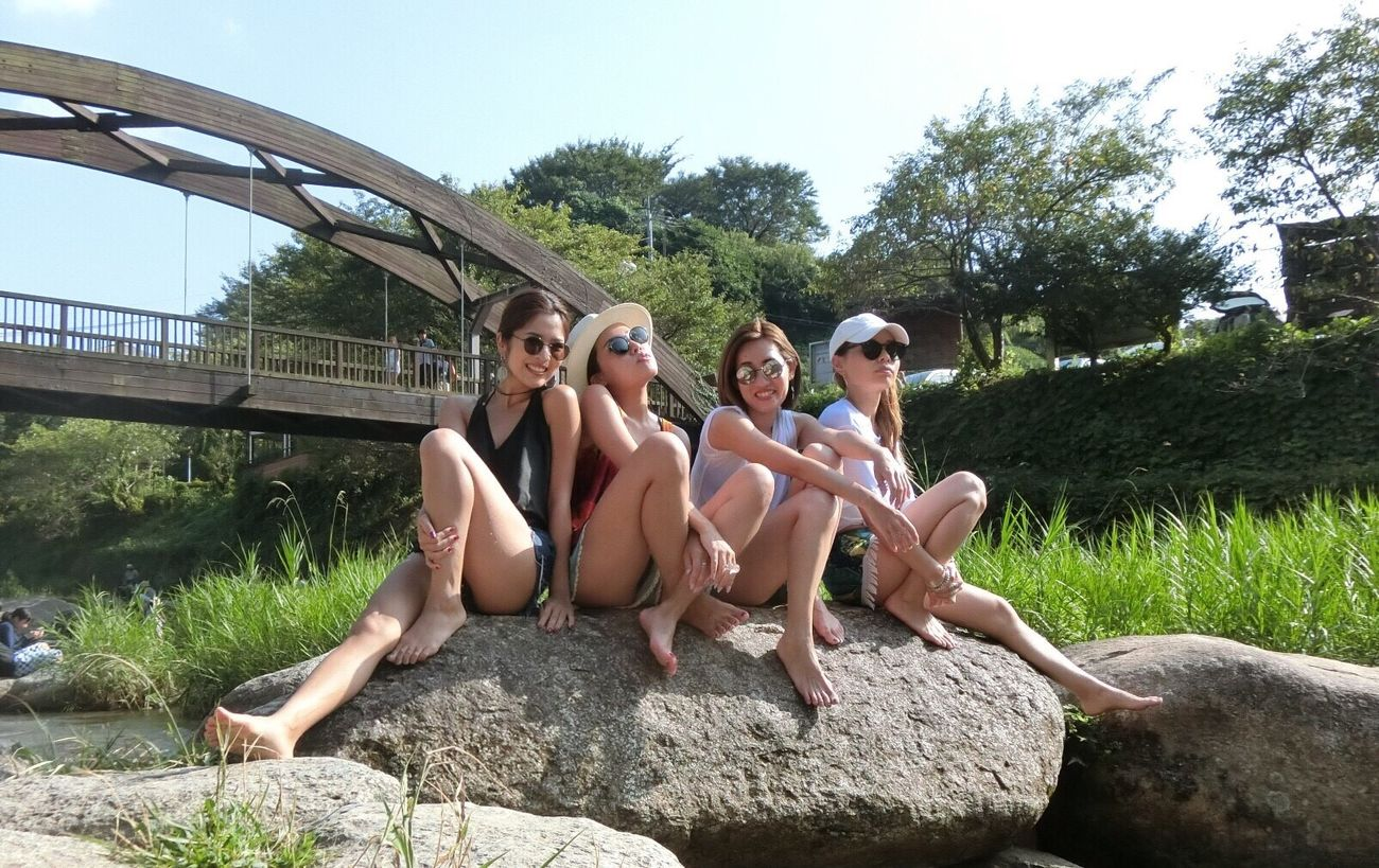 Japan Japanesegirl Summer Sunny Day Dayoff Driving Fhotography Fun Friends River Sun 川 唐津 九州