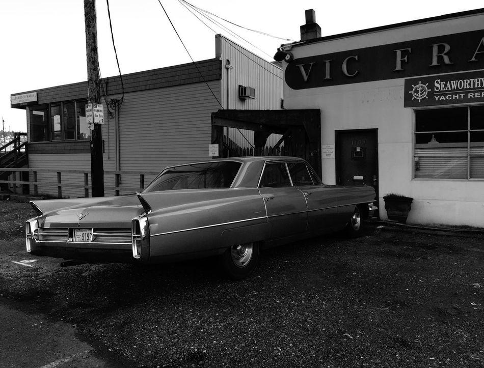 A long ride Car Black & White Seattle