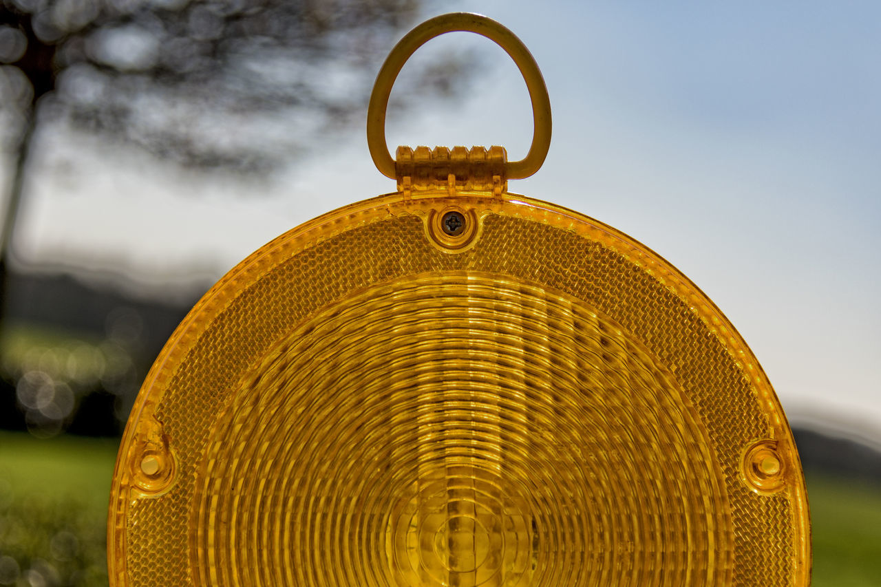 Trafficlight Close-up Cloud - Sky Day Lamp No People Orange Color Outdoors Schleswig-Holstein Signal Textured  Trafficlight Yellow