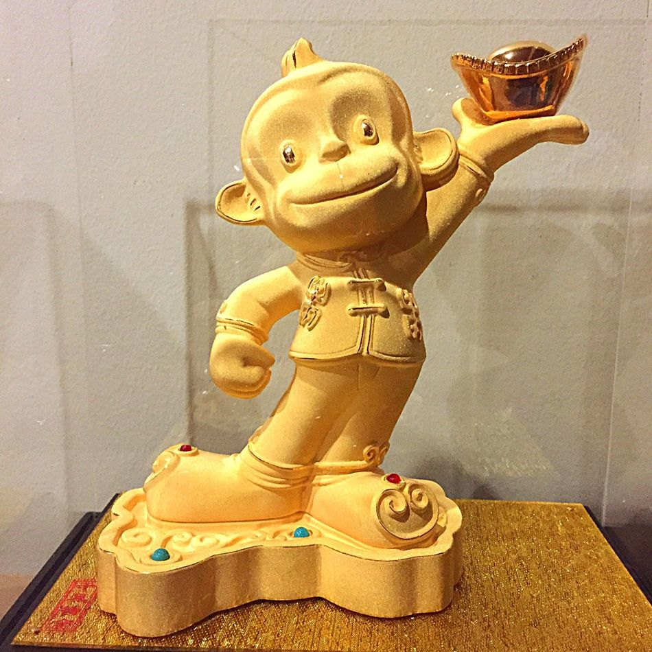 Welcoming the year of monkey🙈🙊🙉 Hear No Evil, See No Evil, Speak No Evil  Check This Out The Year Of Monkey Gold Monkey Gold Plated Special Edition Special Gift Chinese New Year Handmade Good Work