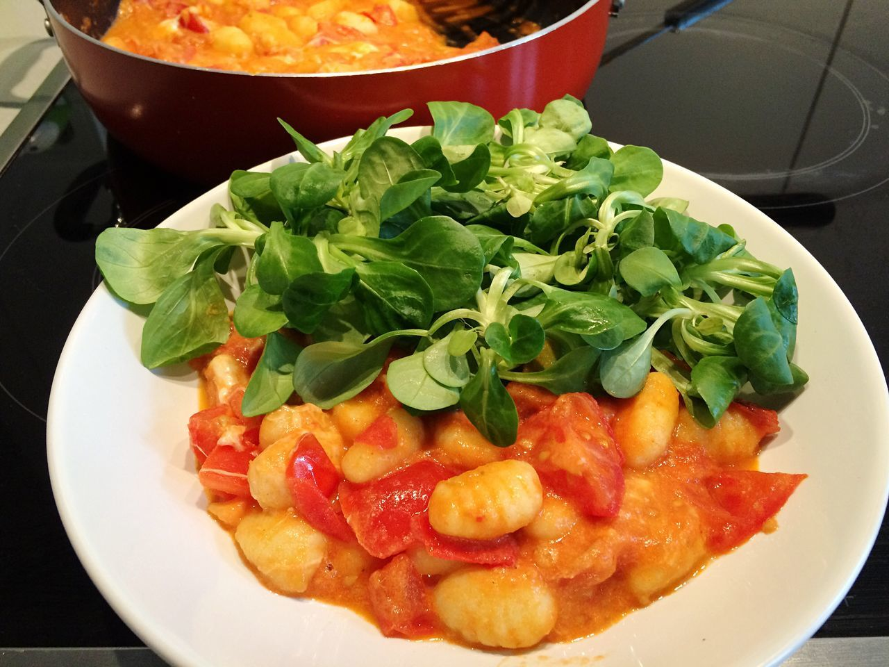 Gnocci GNOCCHI🍴 Salad Eat Healthy Healthy Eating Healthy Food Eat Green Foodie Cooking Cooking At Home Cooking Time Pot