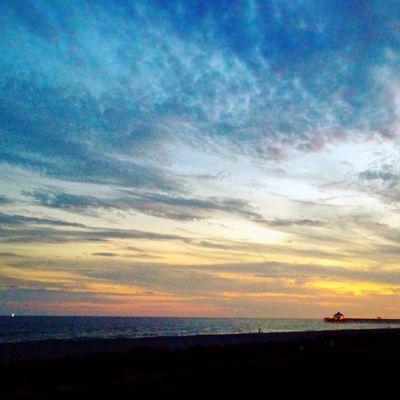 Charelston South Carolina Sunset Beach