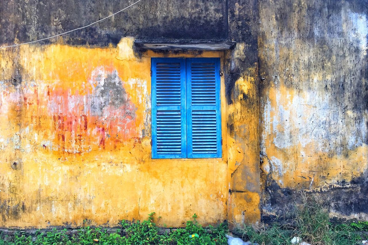 Love walls Streetphoto_color Vietnam Hoi An Mode Of Transport Wall - Building Feature Wall Textures
