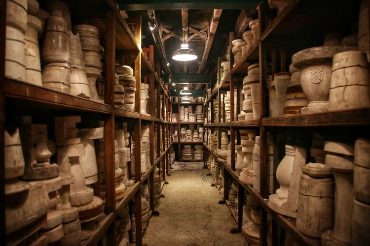 Middleport Pottery Abundance Alcohol Arrangement Barrel Bookshelf Cellar Collection Drink Illuminated In A Row Indoors  Large Group Of Objects Library Middleport Pottery No People Order Shelf Shelves Stack Storage Compartment Variation Warehouse Wine Wine Cask Wine Cellar Wine Rack
