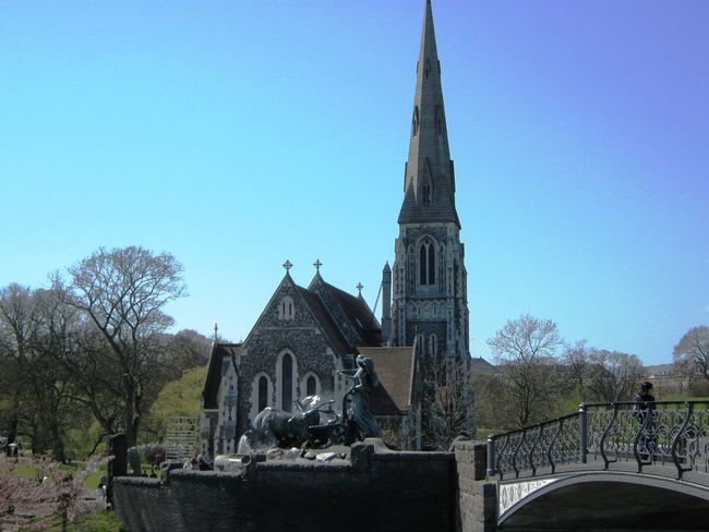 St Alban's Church, Langelinie, Copenhagen Architecture Blue Built Structure Church Clear Sky Copenhagen Day Dome Langelinie Nature No People Outdoors Place Of Worship Religion Sky Spirituality St Alban's Church Temple - Building Tourism Travel Destinations Tree