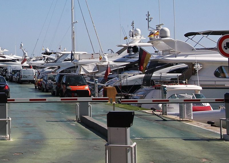 Blue Boat Cruise Enjoying Life Getting Inspired Harbor Hello World Hidden Gems  Holiday In A Row Leisure Activity Lifestyles Mallorca Mast Mediterranean Sea Parked Parking Perspective Port Puerto Portals Sky SPAIN Street The Way Forward Yacht
