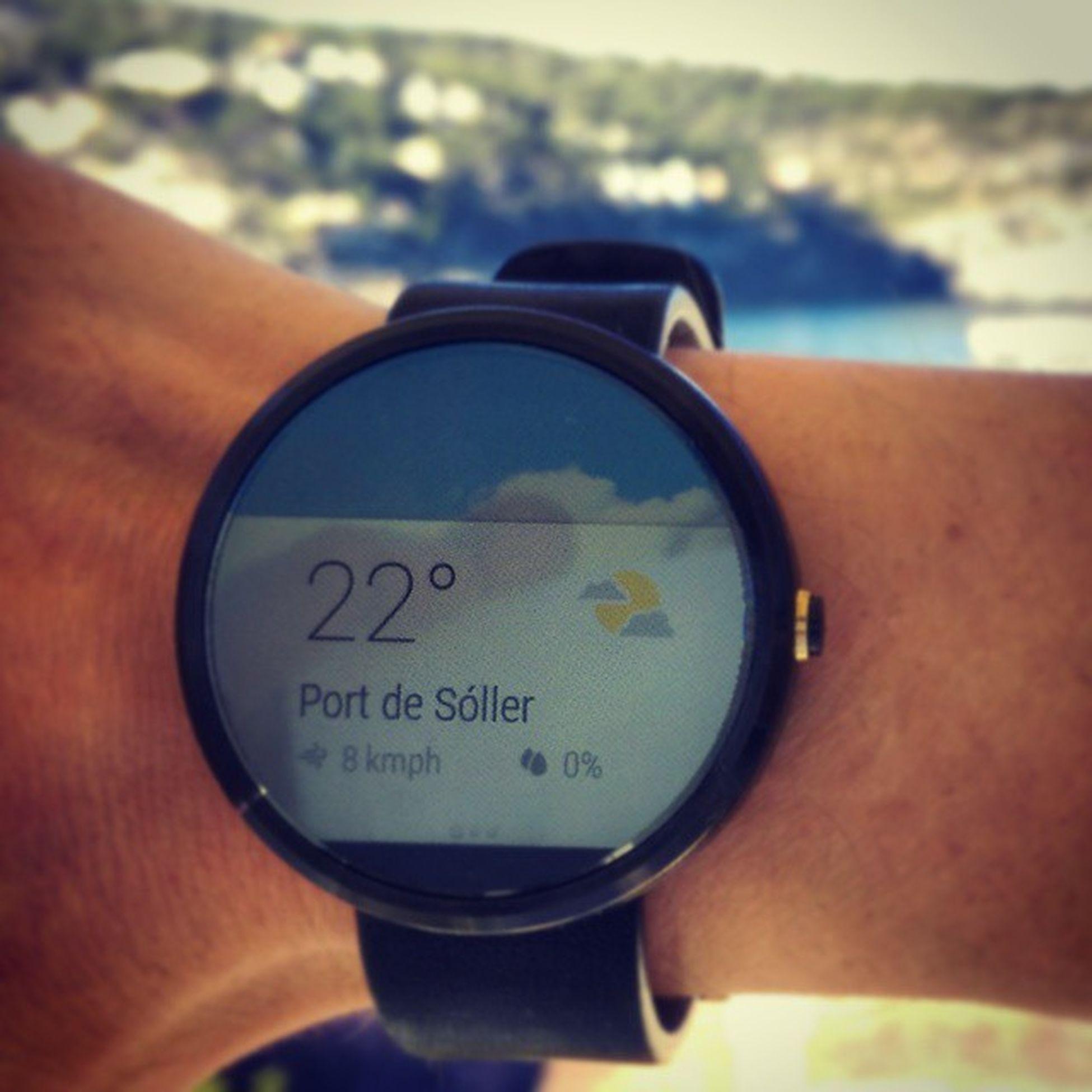 Could be worse and hardly better. Endlesssummer Vacationtweet Weathertweet Portdesóller Mallorca Motorola Moto360