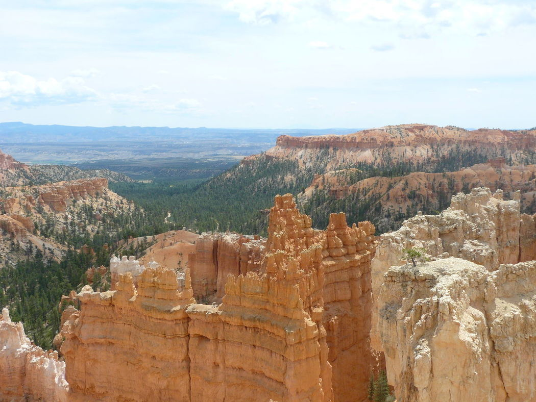 Bryce Canyon National Park Mountains And Sky Nature Nuages Et Ciel