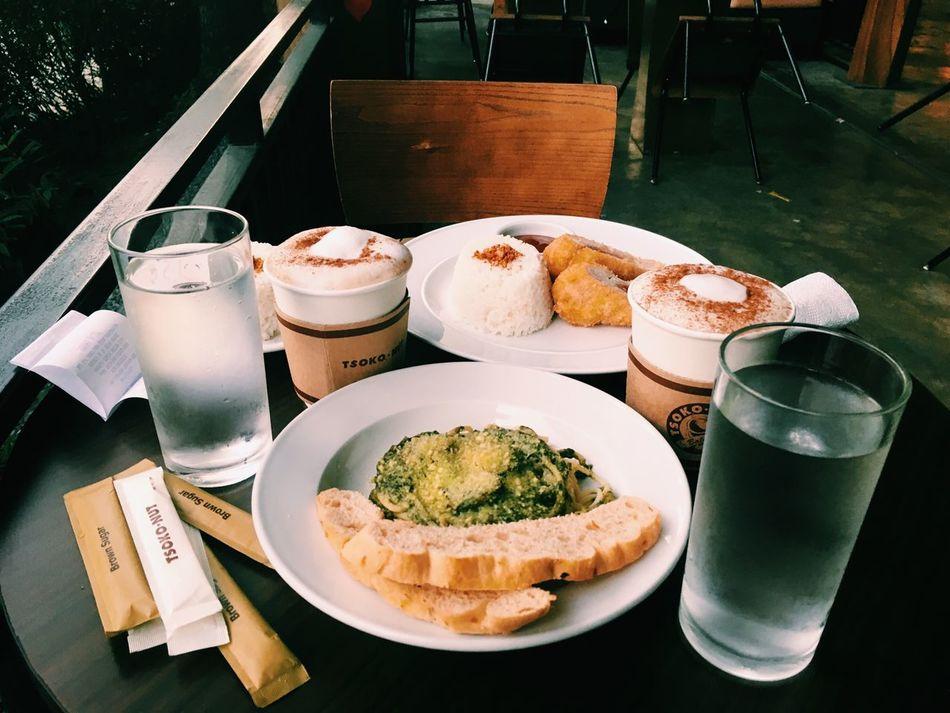 Breakfast Pesto Coffee Chicken Meat Food Date