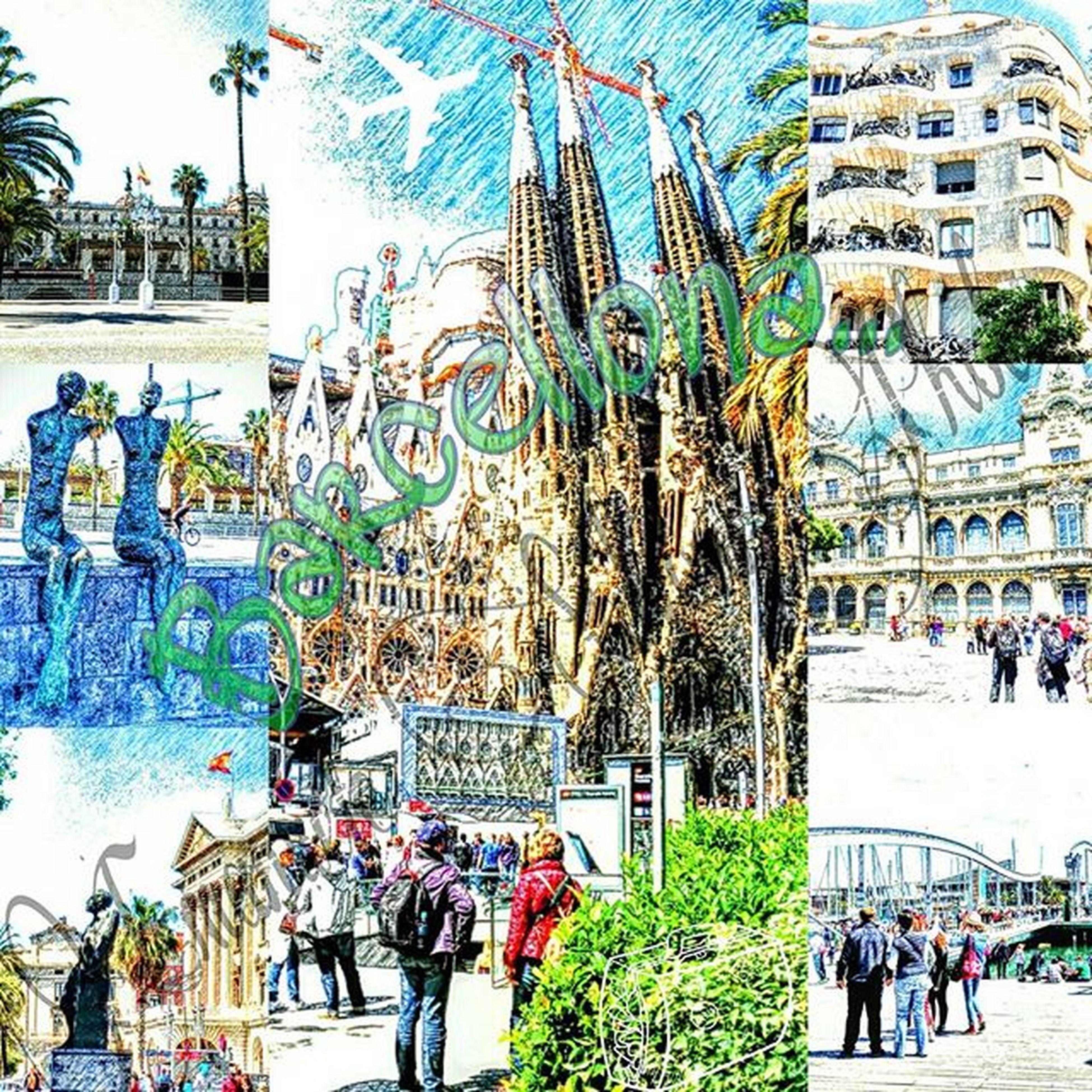 Effettomatita Barcellona Cartolinabarcellona Posterbarcellona Neweffect  Igersbarcelona Igerspagna Emanuelesalvoniphoto