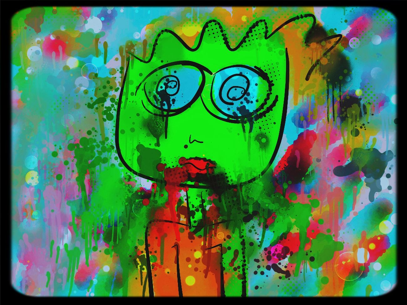 Zombie Zombie Astacia Color Art