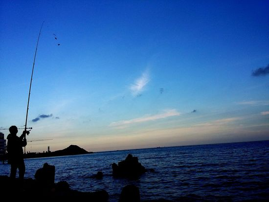 Urban 4 Filter Streetphotography Clear Sky Sunset Fishing Balikpapan