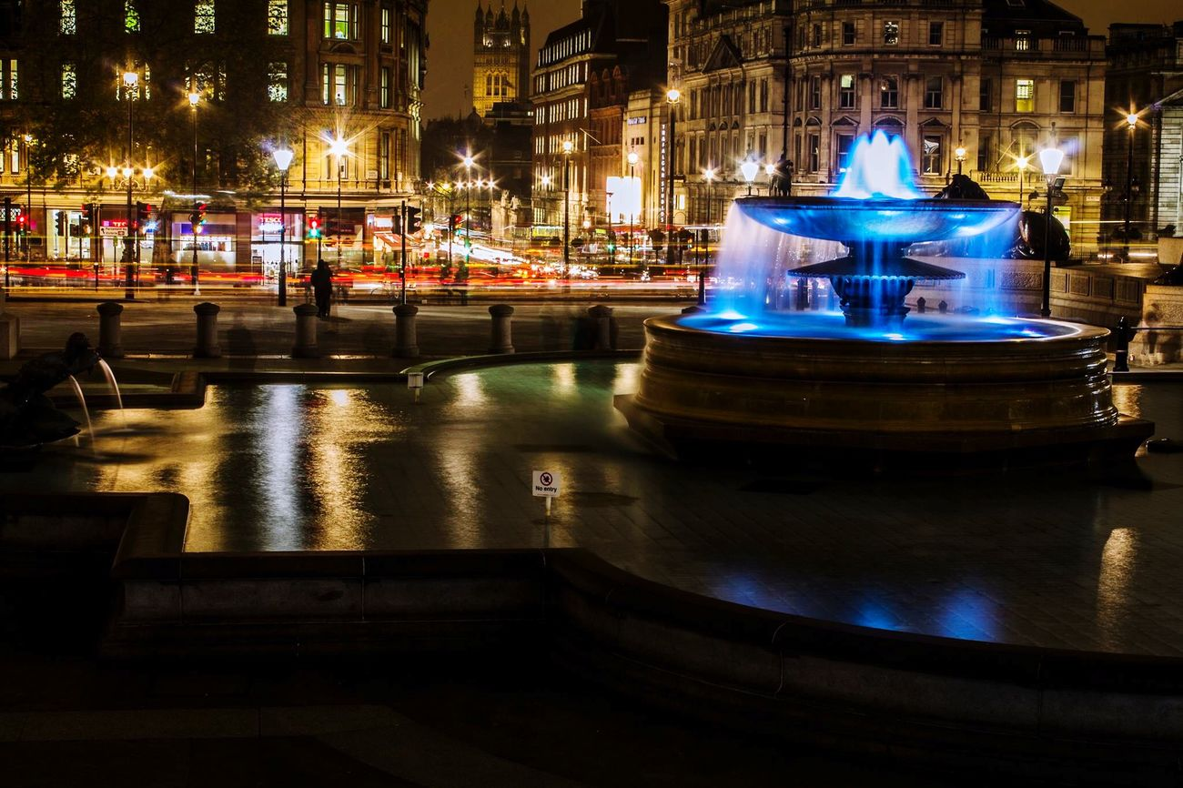 Long Exposure London LONDON❤ Trafalgar Square Fountain EyeEm Best Shots Colors Colorful Color Colours Colorsplash EyeEm EyeEmBestPics EyeEm Best Edits EyeEm Gallery EyeEmBestEdits EyeEmbestshots