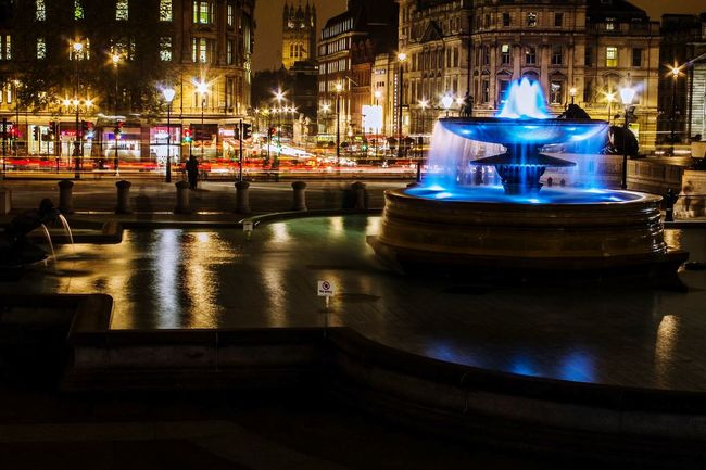 Long Exposure London LONDON❤ Trafalgar Square Fountain EyeEm Best Shots Colors Colorful Color Colours Colorsplash EyeEm EyeEmBestPics EyeEm Best Edits EyeEm Gallery EyeEmBestEdits EyeEmbestshots