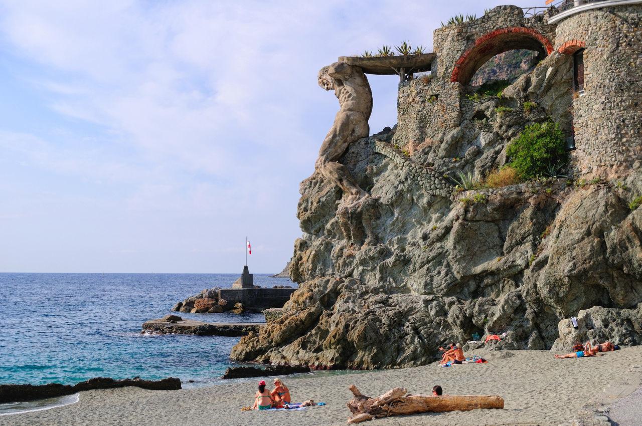 Cliff At Beach