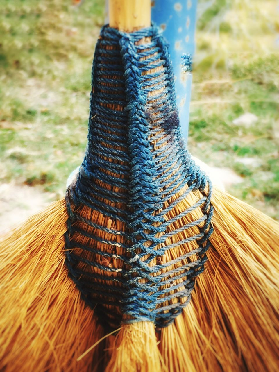 Close-Up Of Broom
