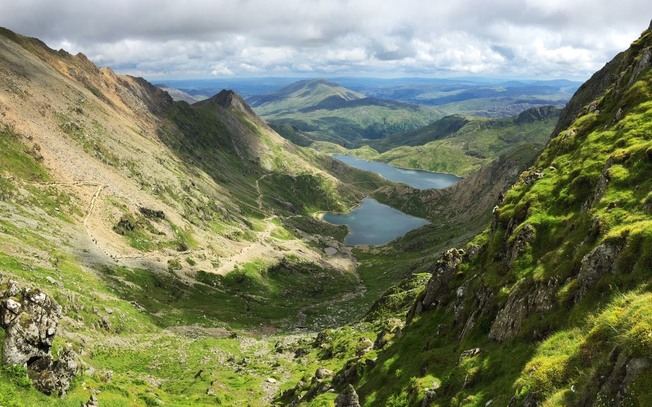 Mountains View From Above Lake Lake View Valley Hiking Pyg Track Crib Goch Miners Track Mountain Range Mountain Landscape Landscapes Travel Traveling Adventure Miles Away Check This Out EyeEm Best Shots Snowdon Snowdonia Wales United Kingdom MISSIONS: The Great Outdoors - 2017 EyeEm Awards