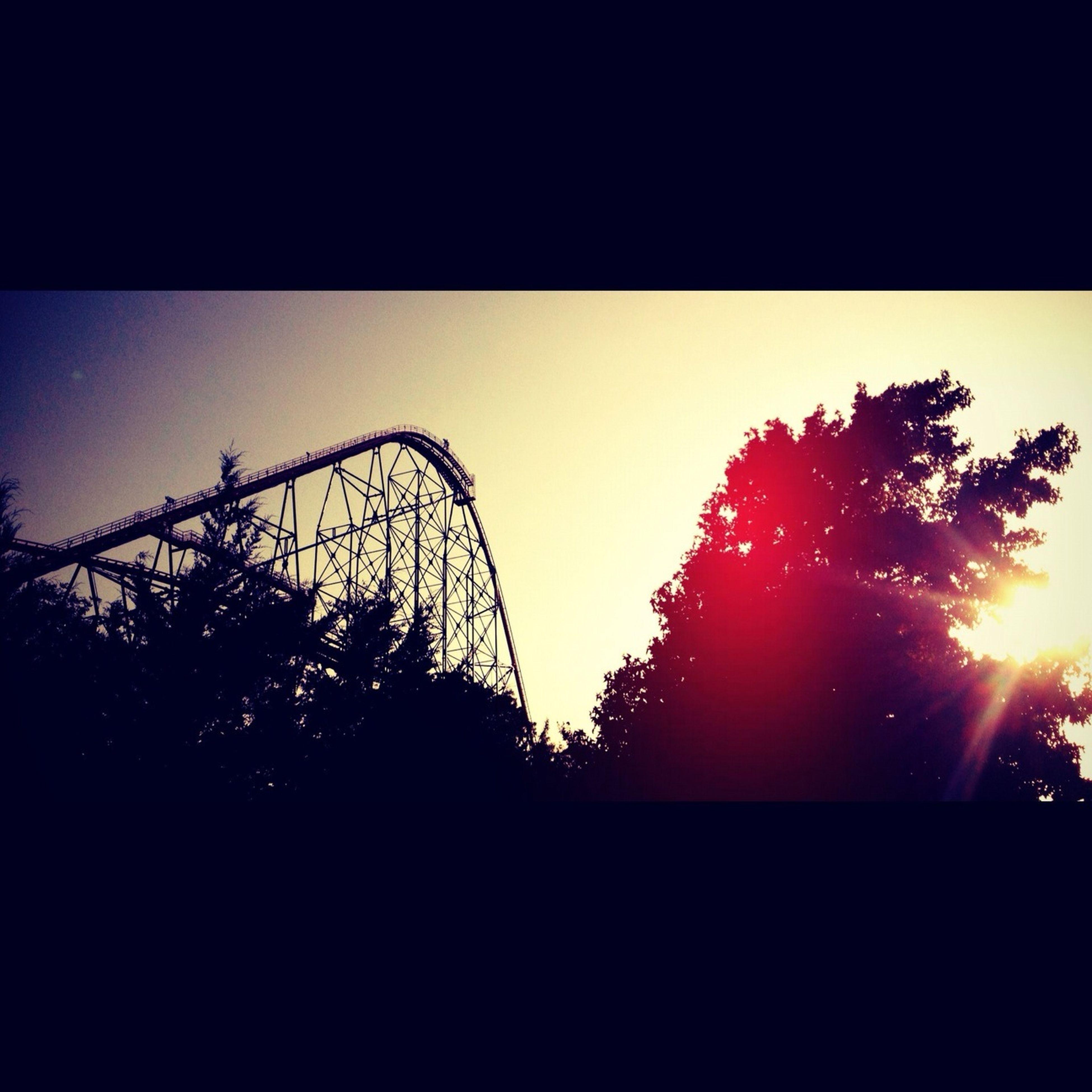 Six Flags, Titan. Beautiful Ride.