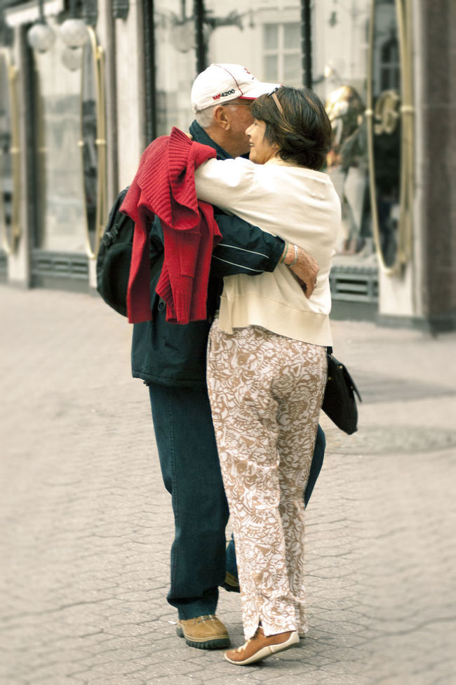Dancing on the streets of Budapest Old But Awesome Dance Dancing On The Street Everyday Joy Joy Joyful Old Old Couple. Older Couple