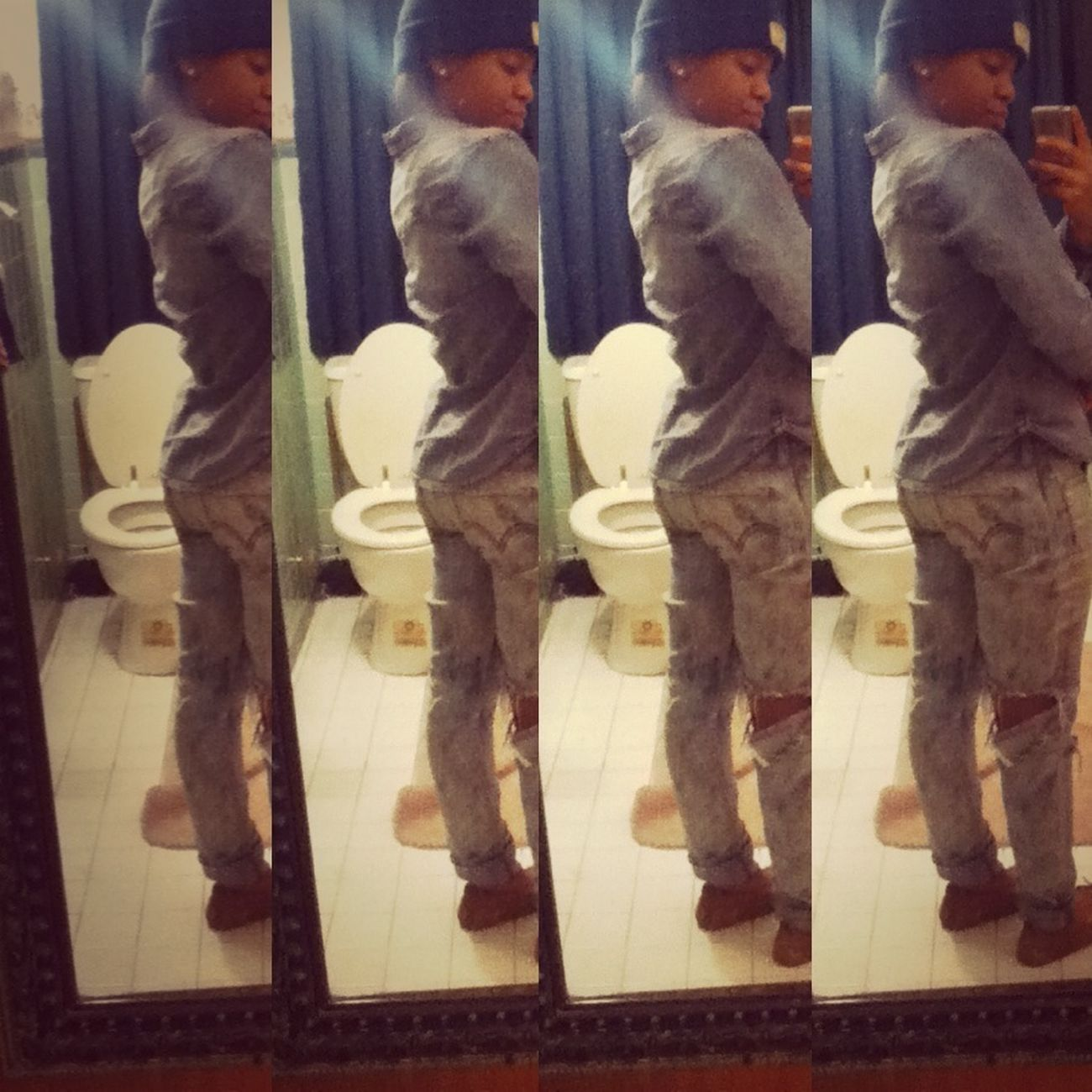 I Gotta Watch My Back , Cause Im Nit Just Anybody .