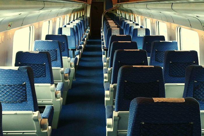 Subway Public Transportation Enjoying Life Train Firstclass Alone... Boring