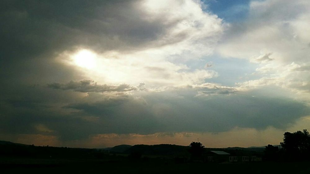 Skyline Clouds And Sky Landscape_Collection Magaliesburg Cradleofhumankind Africa South Africa