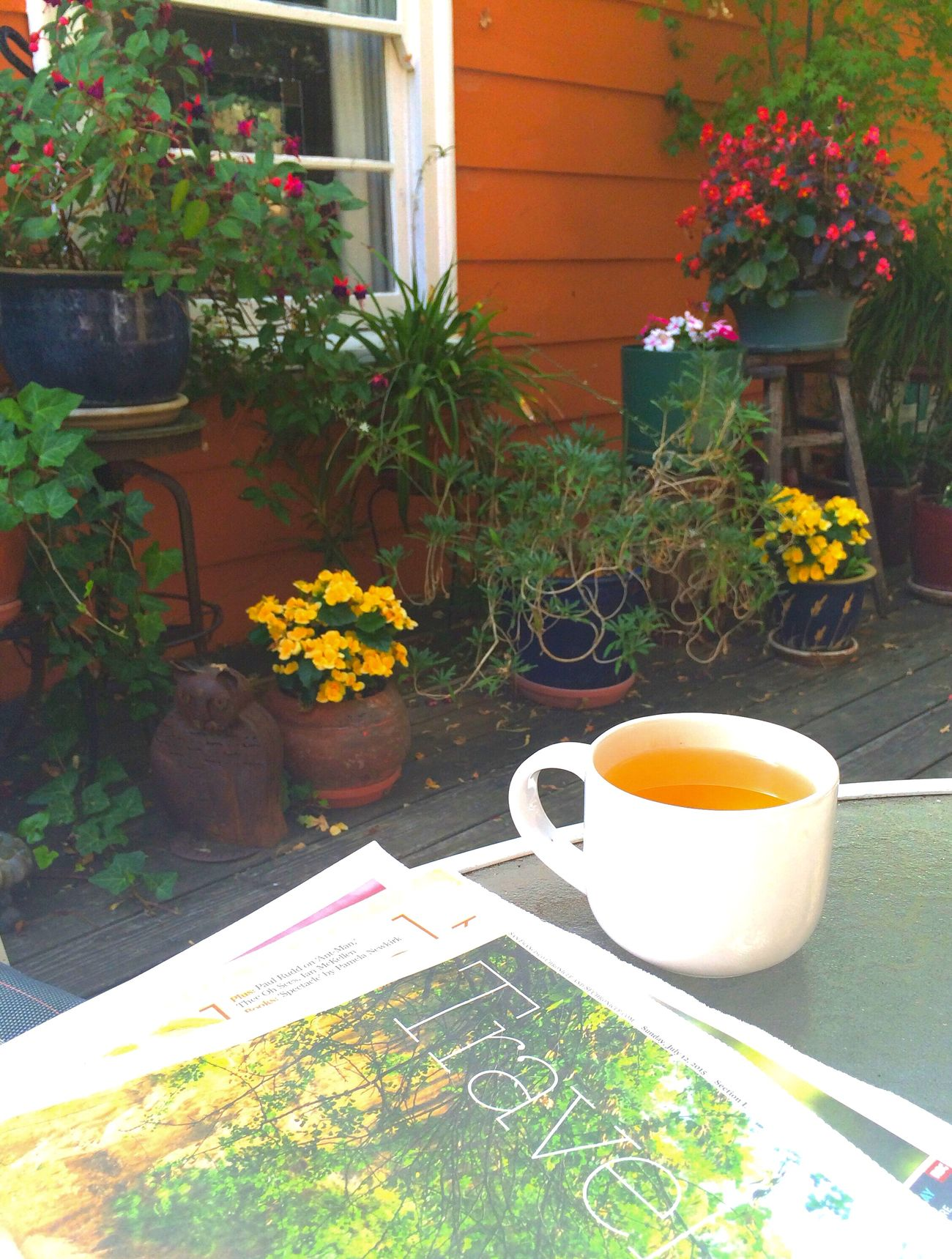Sunday morning My Favorite Photo Of The Day Open Edit Zen Garden The Morning Paper Tea Time