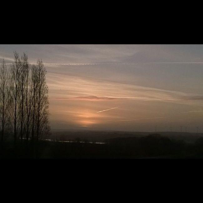 Sunrise in Taupont Bretagne Breizh right now. Sun Leverdesoleil Sole Sol Bretagna Bretagnetourisme Miamorbihan Morbihan