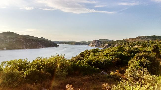 Water Beauty In Nature Tranquility Croatia Sibenik Krka Sea Boat Nature