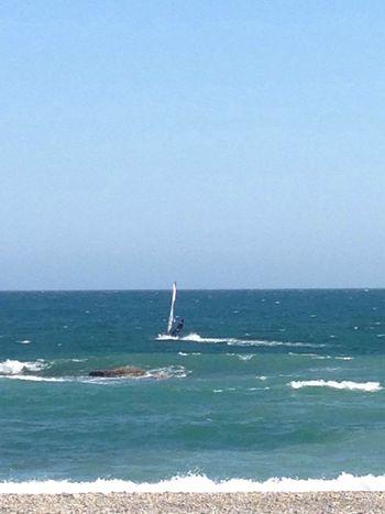 Sol Playa Aire Windsurfing Sun Beach Wind Beachphotography IPhoneography Andalucía Sábado