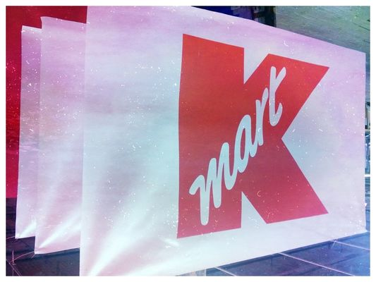 Kmart  at Advertising Flag Company, Inc by focadima