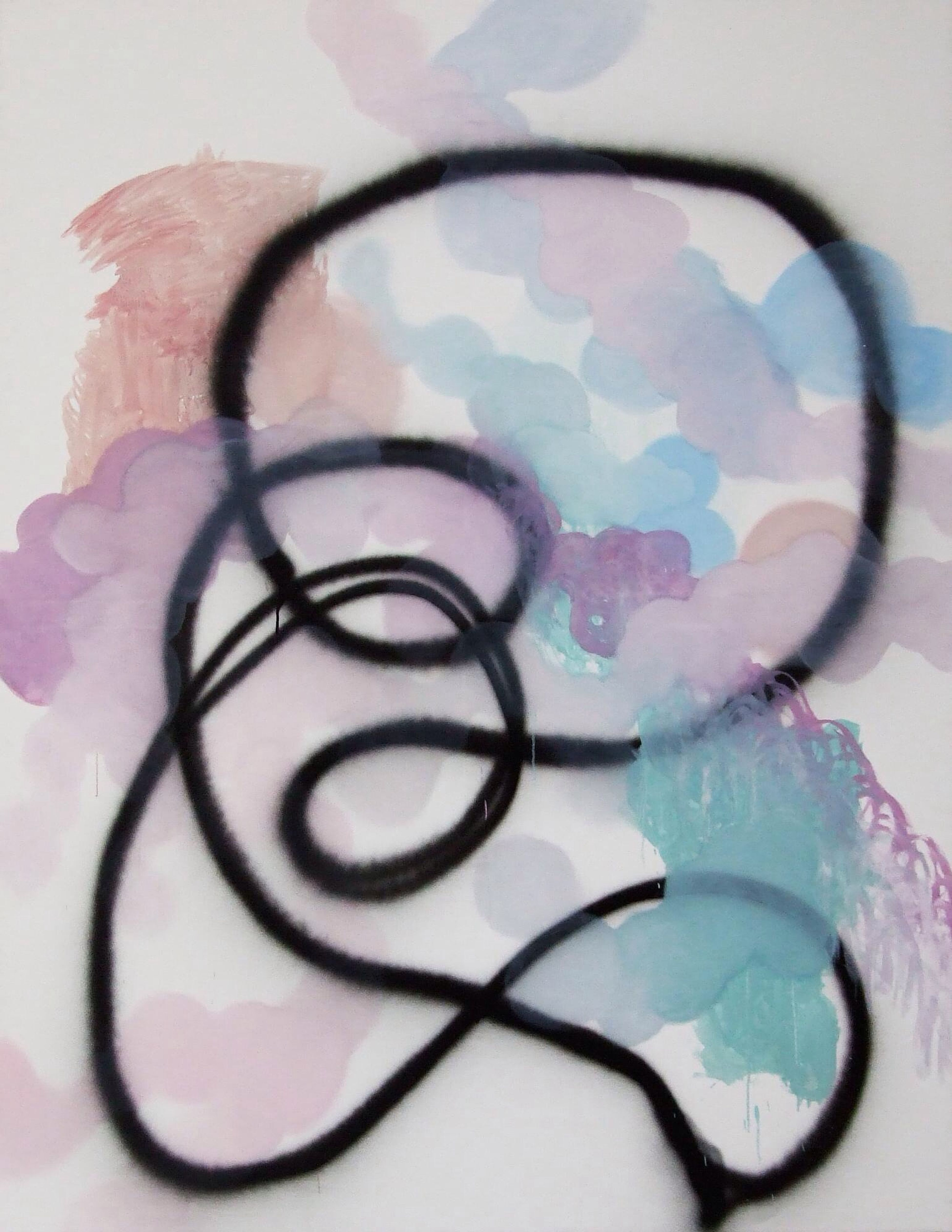 Anabel Leiner- Even if your voice shakes Art Abstract Hamburg Veerkant http://goo.gl/z1uDK8