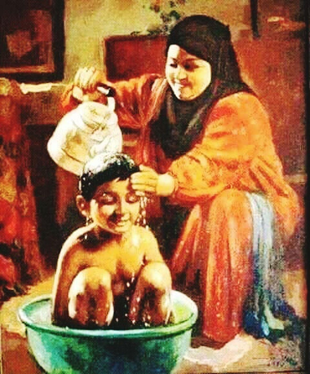 La femme muslman Je T Aime ❤❤ Ma Mère
