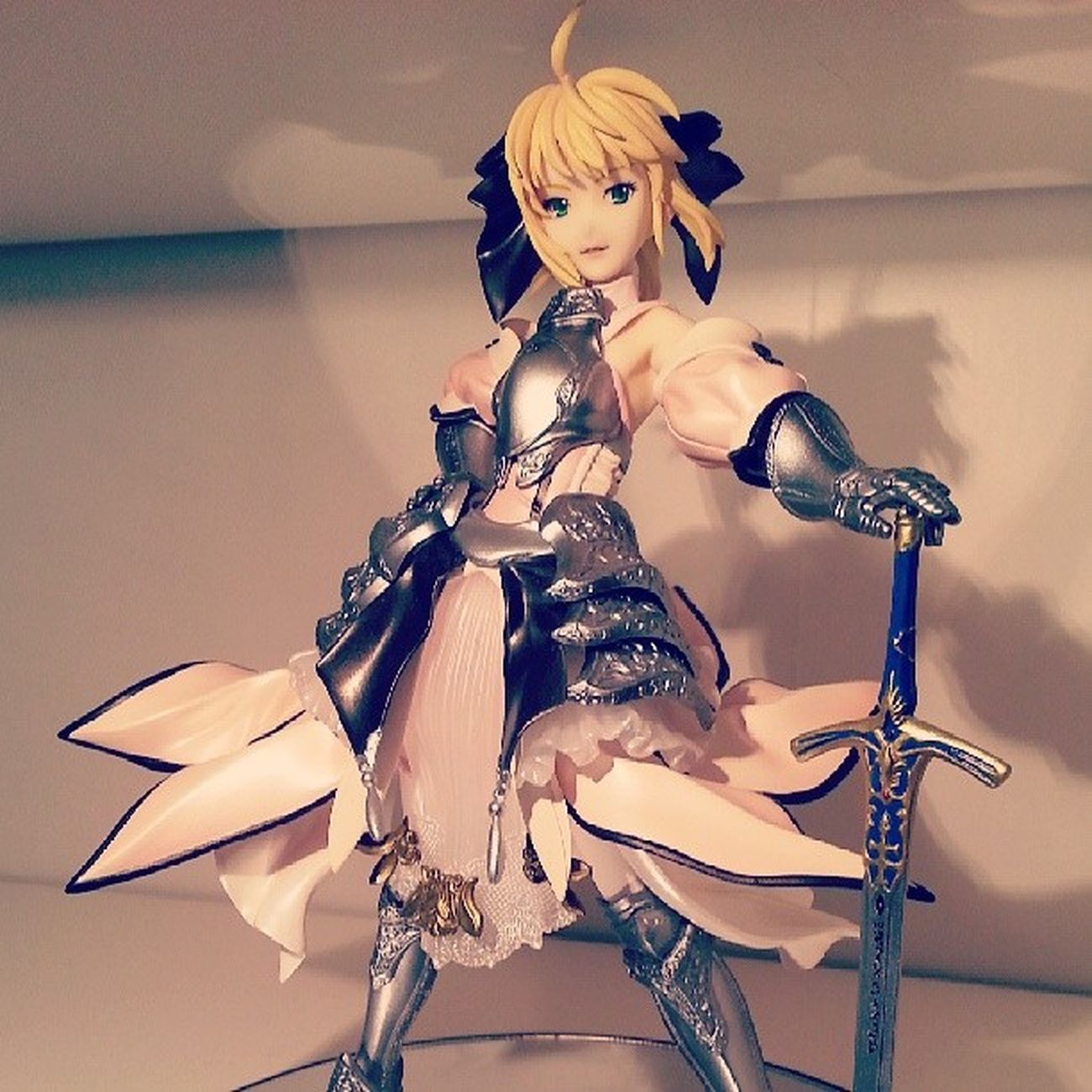 Saber Lily (Fate/Stay Night, Fate/Unlimited Codes) by GIFT SaberLily Saber FateStayNight FateUnlimitedCodes figure anime manga GIFT