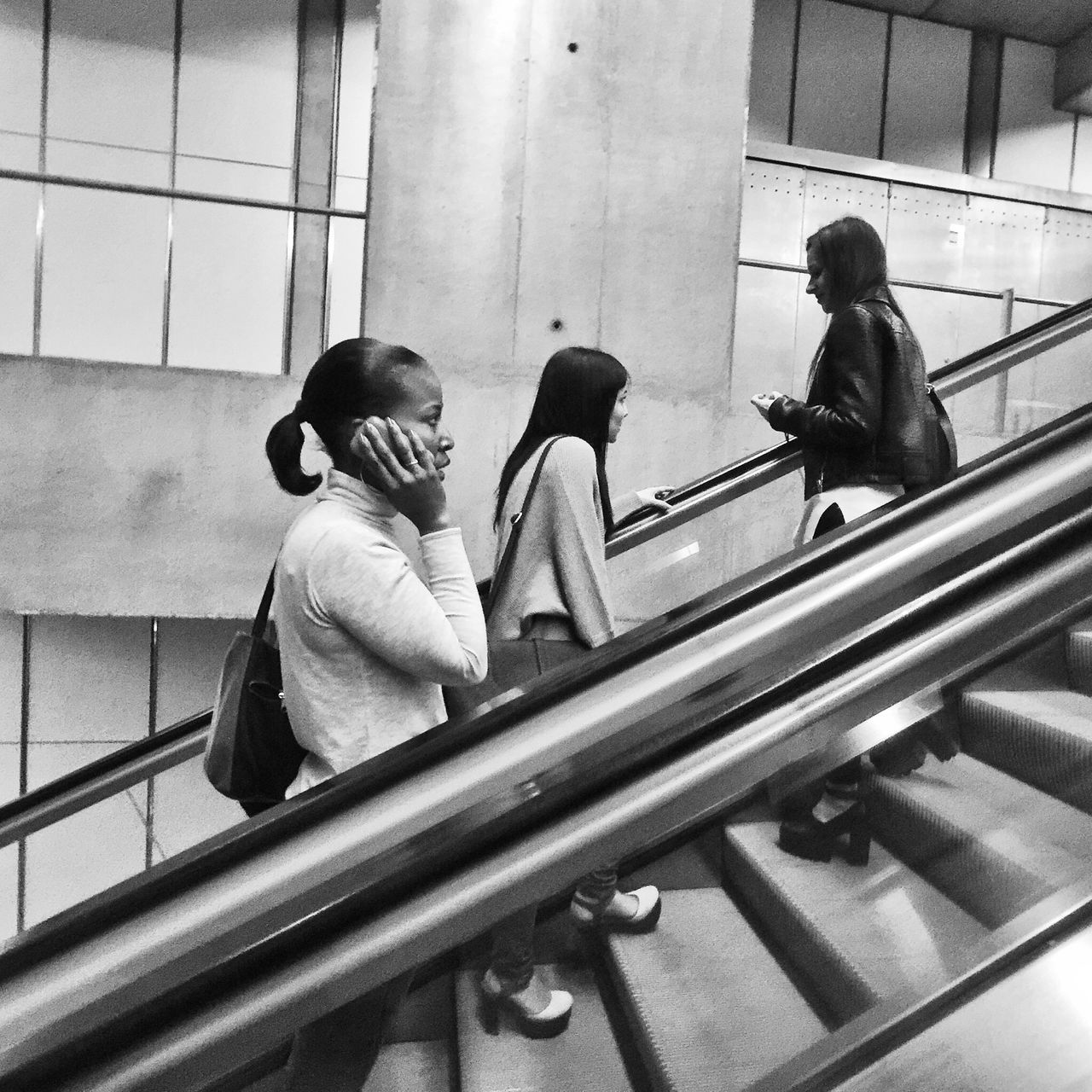 On The Move Streetphotography Blackandwhite Black And White