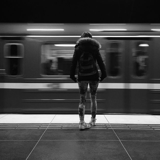 Monochrome Blackandwhite Subway Bw_collection EyeEm Best Shots - Black + White