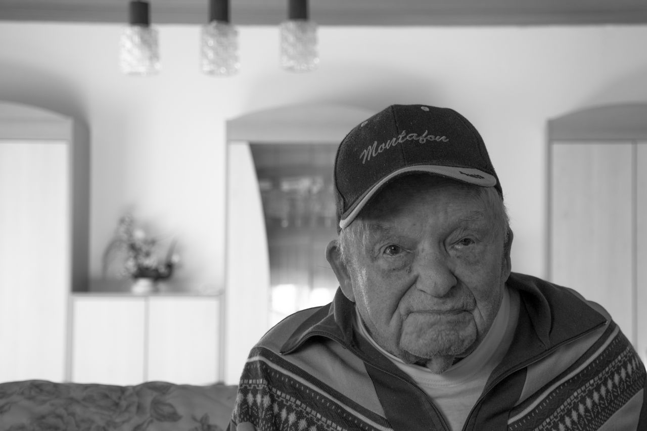 This home, he built it. Blackandwhite Close Up Close-up Confidence  Contemplation Detail Dreaming Eye4photography  EyeEm Best Shots EyeEm Gallery Front View Grandpa Happiness Indoors  Learn & Shoot: Working To A Brief Looking Men Moving Old People Photography Person Portrait Real People Serious Sitting