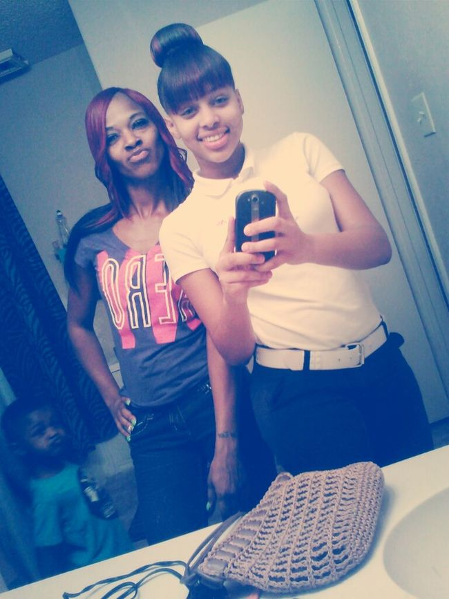 My Mama And I , Dont Mind My Brother In The Background /.-