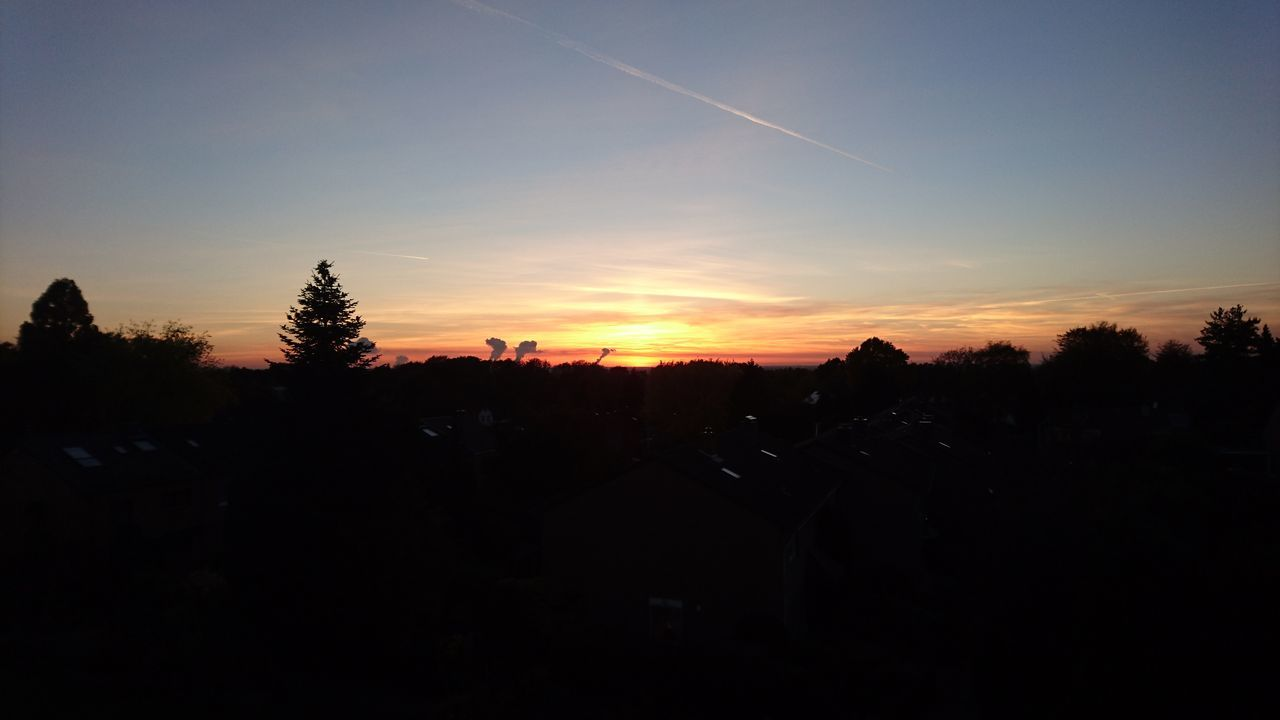 Sky Beauty In Nature Sundown, Sonnenuntergang