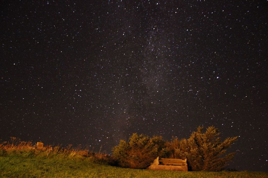 The Places I've Been Today Night Canon Scotland Highlands Check This Out Stars Milkyway Milky Way Long Exposure Stary Sky