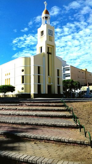 Architecture Built Structure Building Exterior No People Outdoors Day Sky Igreja Brazil