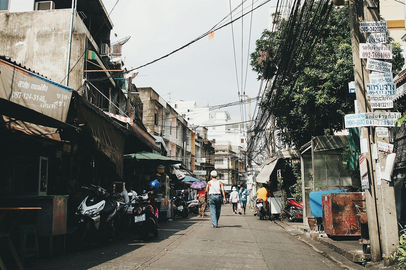 Bangkok Street Street Photography Bangkok Street Life Explorebangkok Locallife