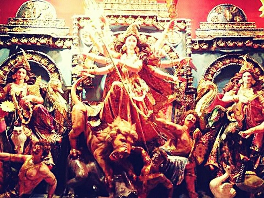 DurgaPuja2k16 Puja Celebration Enjoying The Moment FunWithFriendsAndFamily
