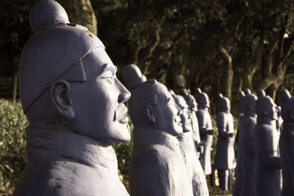Buddha Buddha Eden Day Headwear Men Nasmgraphia Nature Outdoors People Portugal Rear View Terracotta Soldiers Terracotta Warriors Togetherness Travel Destinations Traveling